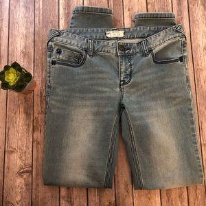 Free People Skinny Jeans Size 28 Blue